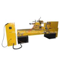 Best CNC Wood Turning Broaching Engraving Machine with Single Axis Double Blades wholesale