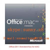 China Professional Office Utility Software Product Key For Office Mac 2011 Standard on sale
