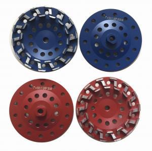 Best 7 S type Concrete Cup Wheel Diamond Grinding Wheel Grit #18 - Grit #120 wholesale