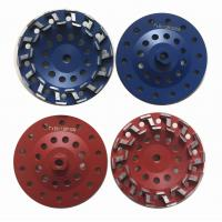 "Buy cheap 7"" S type Concrete Cup Wheel Diamond Grinding Wheel Grit #18 - Grit #120 from wholesalers"