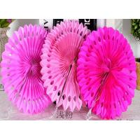 Best Party Decoration Customized Hot Sale Tissue Paper Fans Hanging Paper Fan for Wedding Decorations wholesale