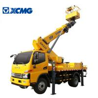 Best XCMG Official Small Scissor Lift Platform , Aerial Lifts And Aerial Work Platforms wholesale