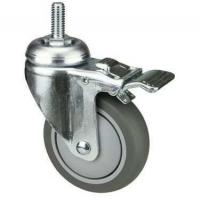 Best OEM TPR Industrial Castors With PP Core For Medical Shopping Cart wholesale