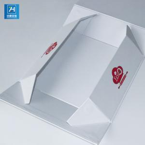 China 4C Offset Printing Embossing Corrugated Foldable Gift Boxes on sale