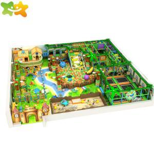 China Jungle Theme Kids Indoor Playground Equipment 12 Months Warranty on sale