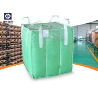 Polypropylene FIBC Bulk Bags / Baffle Bag With Inner Bag Color Customized for sale