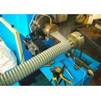 China Spiral Corrugated Pipe Extrusion Line Flexible Rubber Hose Machine on sale