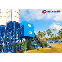 Cheap Large HZS60 Stationary Concrete Batching Plant Steel Structure With Js1000 for sale