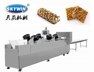 Industrial Automatic Peanut candy bar machine Cereal Energy Stick