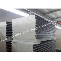 Best Environment Protection PU Sandwich Insulated Panels Water Resistant for Wall Systems wholesale