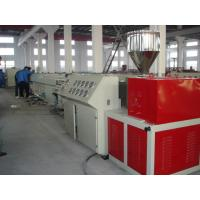 Cheap Speedy Pipe Profile Single Screw Extruder / Plastic Sheet Making Machine for sale