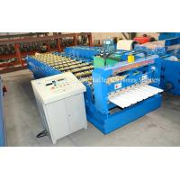 Buy cheap Automatic Wall Panel Cold Roll Forming Machine Roof Sheet Making Machine product