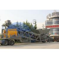 China Cement Sand YHZS100 10m3×2 Mobile Mixing Plant on sale