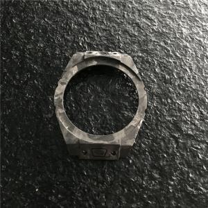 China Women Smart Carbon Fiber Watch Case , Carbon Fibre Machining Forged Surface on sale