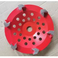 Cheap Arrow segment Diamond Cup Diamond Grinding Wheels Grinding Concrete With Customized Color for sale