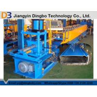 Best Shelving Box Beam Warehouse Rack Roll Forming Machine With Cr 12 Quenched Cutter wholesale