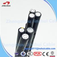Best Low Voltage XLPE Insulated Service Drop Cable Duplex Bull Messenger Wire wholesale