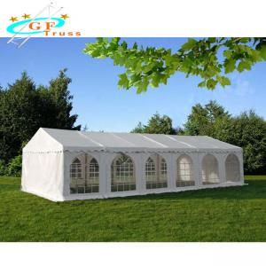 Best Portable White Outdoor Canopy Party Tent Reinforced 160g Polyethylene Roof wholesale