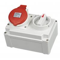 Best Rain Resistant Industrial Switches And Sockets Outlets With Red Cover wholesale