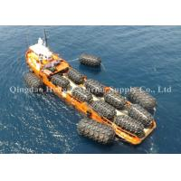 Best Large Diameter Floating Navy Boat Fenders , Boat Rubber Fender With Long Service Life wholesale