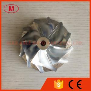 T88 34D 6+6 blade 69.67/95.00mm high performance turbo Billet/milling/aluminum 2024 compressor wheel for  49188-02700