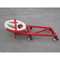 Best ODM Steel Red and blue Cable Trolley for Construction Hoist Spare Parts wholesale
