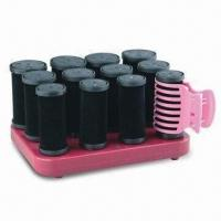 Best 12 Pieces Fuzzy Curling Barrel, PTC Heating with 3 Barrel Sizes and 12 Clips wholesale