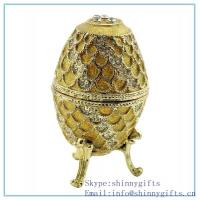 Best faberge egg box china supplier _buy cheap price jewelry box ostrich egg--shipping free Rus wholesale