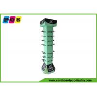 China Retail POP Rotating Cardboard Peg Display For Bamboo Clothing And Eco Wear HD010 on sale