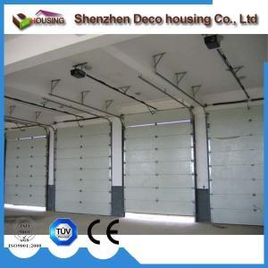 Best Factory door heavy duty sectional door reinforcing struts automatic industrial fold up doors wholesale