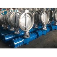 """Best Carbon Steel Pneumatic Triple Eccentric Butterfly Valve Wafer Type Size Rating 2"""" To 60"""" wholesale"""