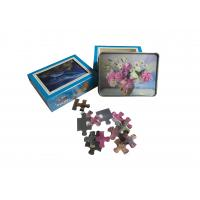 Best 22x30cm 3d Lenticular Jigsaw Puzzles With 80pcs For Kids Intelligence Educational wholesale
