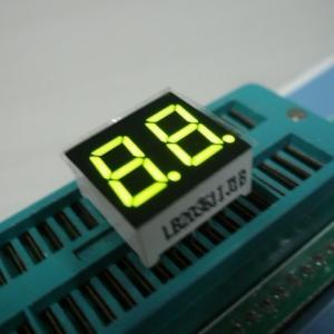 China Dual Digit 7 Segment Multiplexed LED Display For Digital Clock Indicator on sale