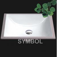 Best Cupc Certificated American Undermount Bathroom Porcelain Sink (SS-U1813) wholesale