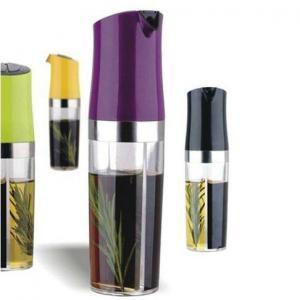 Buy cheap 2 in 1 oil & vinegar dispenser bottle from wholesalers