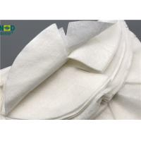 China Skin Care Nourishing Bamboo Fiber Fabric Non Woven Custom Size Tear Resistant on sale