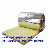 Best 24kg/m3 glass wool insulation roll with Aluminum foil on one side wholesale