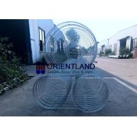 China Removable And Reusable Concertina Wire Fencing Rapid Deployment ISO SGS on sale