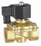 Best 24VDC Brass Electric Water Solenoid Valve 2 Way Zero Differential Pressure wholesale