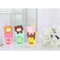 Best Personalised Silicone Gift Cute Cartoon Silicone Rubber Holder For Hand Sanitizer wholesale
