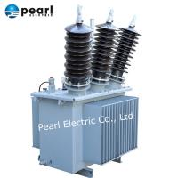 Buy cheap Three Phase Oil Immersed Transformer 33kV 50 kVA For Agricultural Power Grids from wholesalers