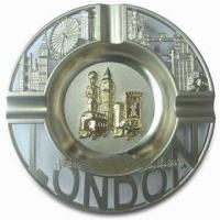 Best Promotional London Ashtray, Made of Alloy, Available in Various Sizes wholesale