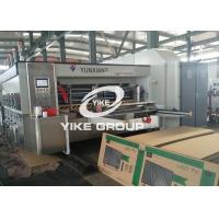 Best Automatic Water Ink Two Color Flexo Printing Machine For Corrugated Boxes Usage wholesale