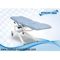China Electric Obstetric Table Blue Gynecology Chair For Gynecologic Examination on sale