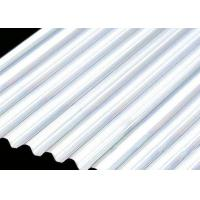 Best Building Roof 6061 4mm Aluminum Sheet , Smooth Curving Corrugated Roof Sheets  wholesale