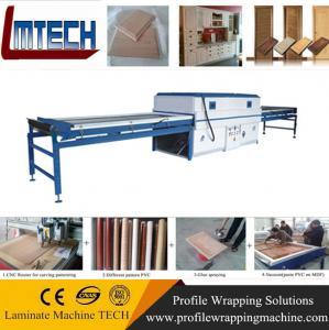 Best PVC Decorative Doors Panels vacuum membrane press machine wholesale