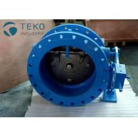 Best Ductile Iron Silent Tilted Disc Wafer Check Valve With Hydraulic Damper No Water Hammer wholesale