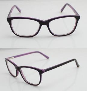 Best Lightweight Custom Made Eyeglass Frames , Mens / Womens Acetate Optical Frames wholesale