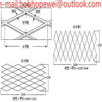 China expanded metal fence panels/expanded metal catalogue/aluminum expanded metal/aluminum expanded mesh suppliers on sale