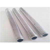 China Stainless Steel Drill Rod Hot Dipped Technique High Frequency Welded Feature on sale